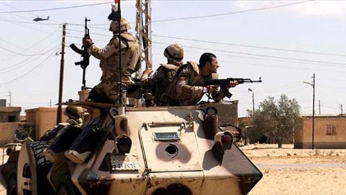 مجندين وإصابة ثلاثة أخرين إثر انقلاب مدرعة بوسط سيناء