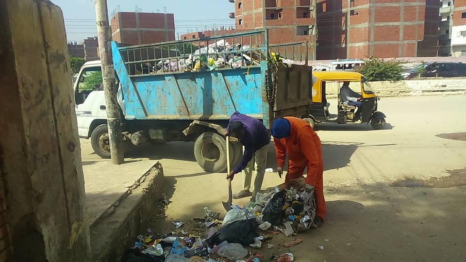 حملات النظافة بشوارع فاقوس 1