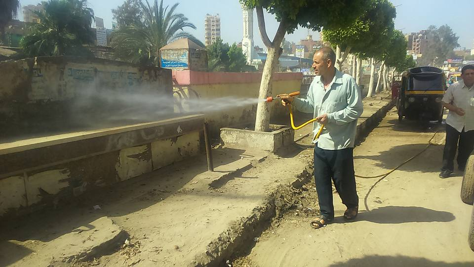 حملات النظافة بشوارع فاقوس 2
