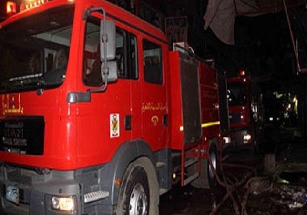 على فرد أمن اعترض سيارة حماية مدنية متوجهة لإطفاء حريق بالقنايات