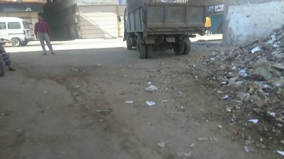 .. استمرار حملات النظافة بشوارع فاقوس 5