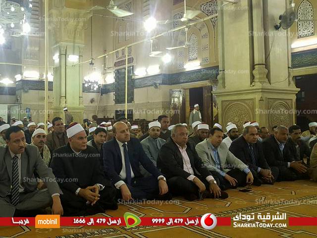 الشرقية ومدير الأمن يشهدان احتفالية الأوقاف بذكرى لإسراء والمعراج