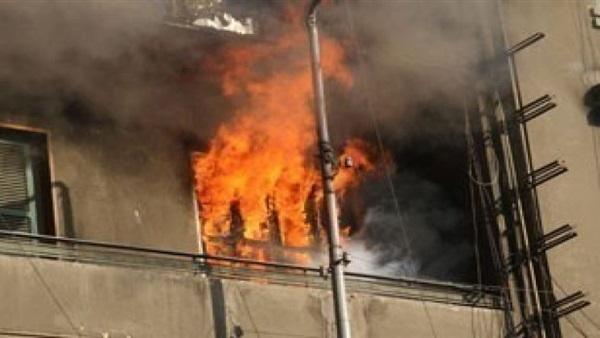 كهربائي»يتسبب في حريق يلتهم محتويات شقة بالزقازيق