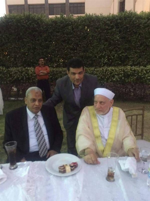 الأولى من زفاف المتحدث الاعلامي السابق على الاعلامية إيمان أبو طالب