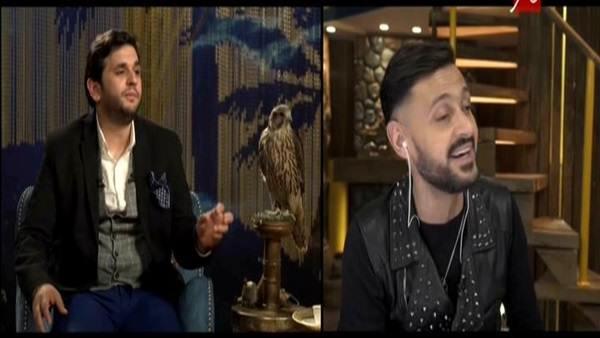 .. مصطفى خاطر يقلد الفنان «محمود المليجى» فى برنامج رامز تحت الأرض