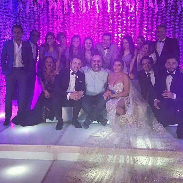 ناهد السباعي بفستان الزفاف تثير الجدل حول ارتباطها