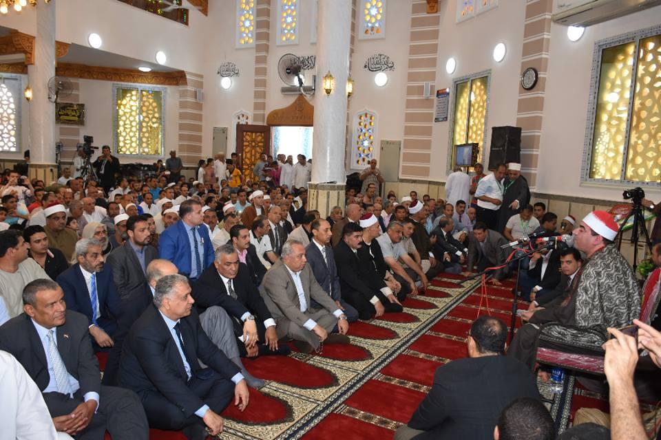 الشرقية يفتتح مسجد الخير بالزقازيق