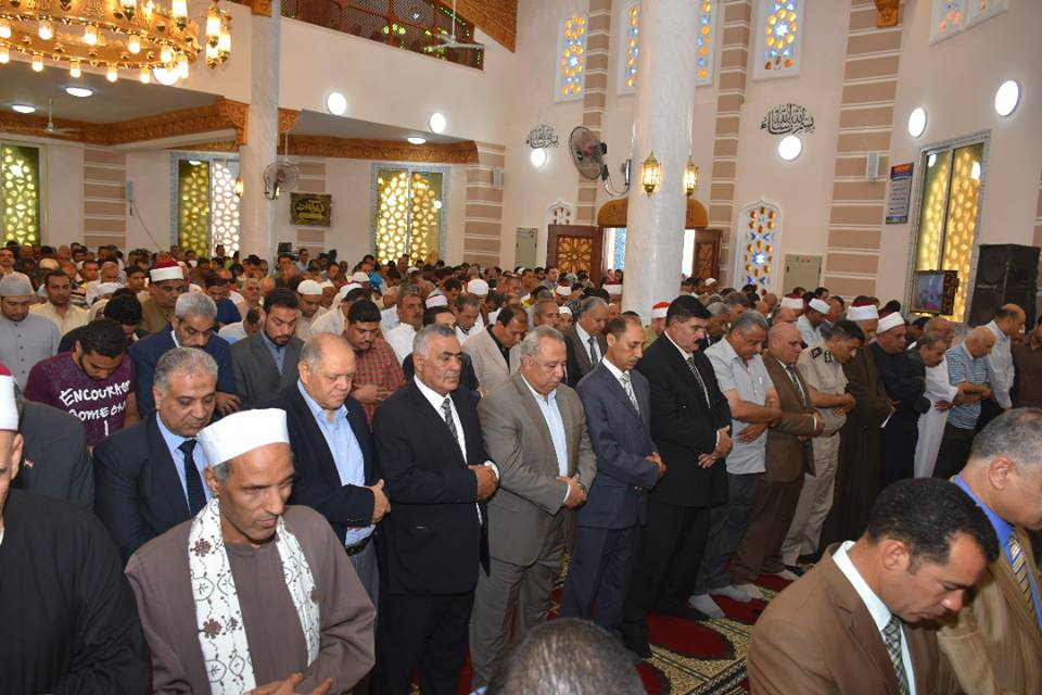 الشرقية يفتتح مسجد الخير بالزقازيق3