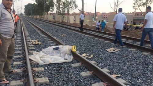 طالب أسفل عجلات قطار «القاهرة الزقازيق»