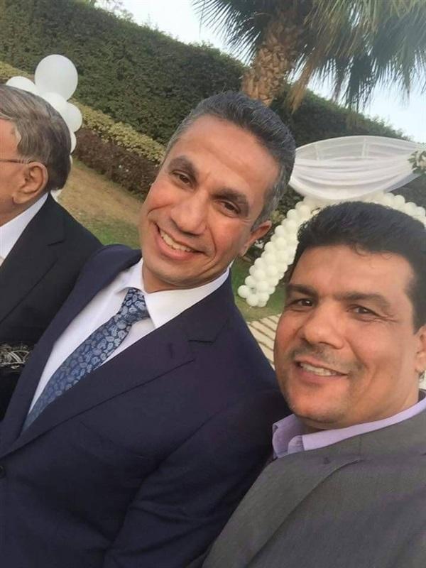 3الصور الأولى من زفاف المتحدث الاعلامي السابق على الاعلامية إيمان أبو طالب