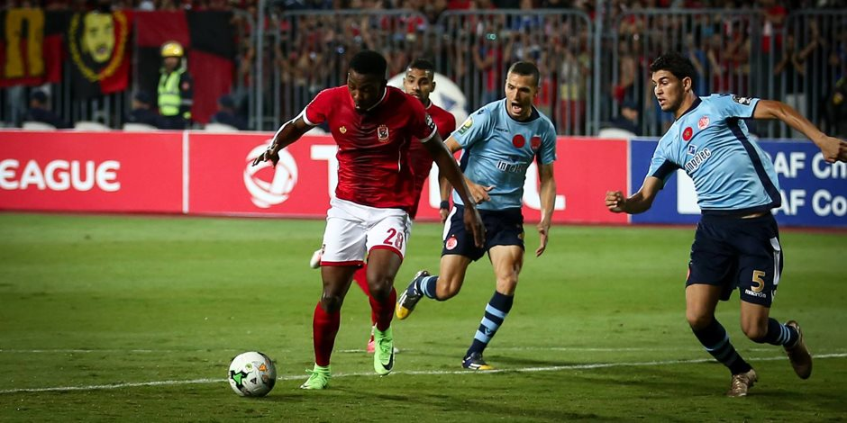 يحرز الهدف الثاني للأهلي في الدقيقة 76 بمرمى الوداد