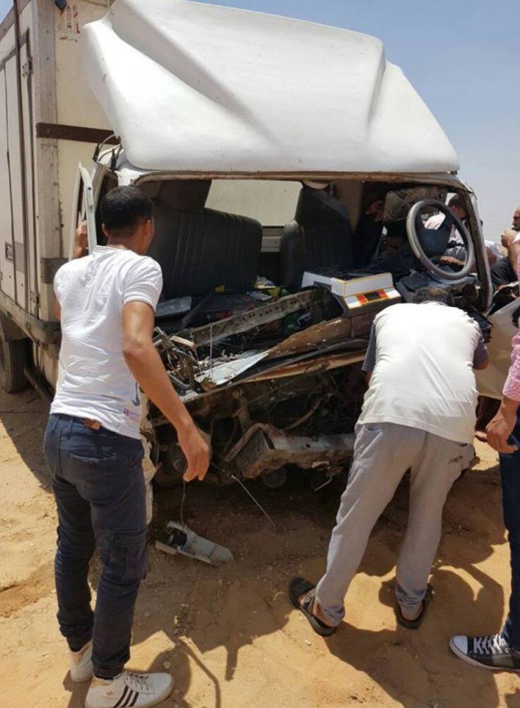 3 أشخاص في حادث تصادم علي طريق «بلبيس العاشر من رمضان»