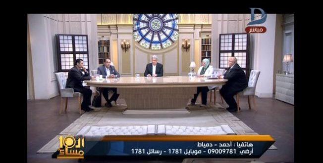.. متصل يفاجئ الإبراشي بموعد تسريب إمتحان اللغة العربية