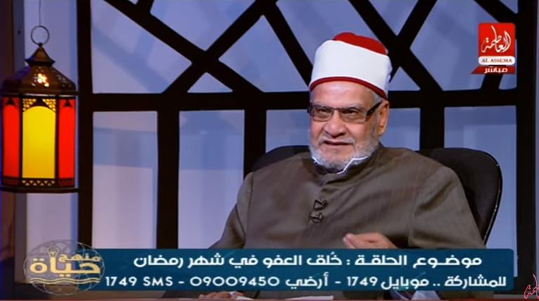 ..«أحمد كريمة» يعلق على برنامج رامز جلال