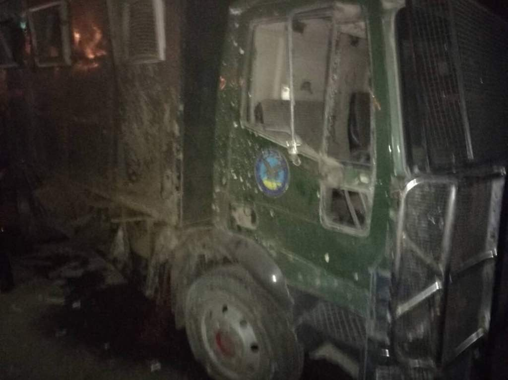 حسم تعلن مسؤوليتها عن الهجوم على سيارة الأمن المركزي بالمعادي