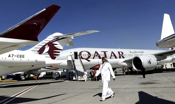 عودة المصريين من قطر 1
