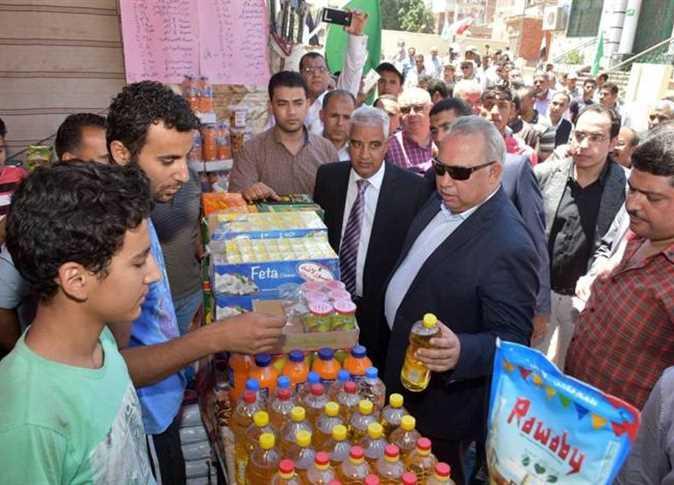 الشرقية يتابع معارض «أهلاً رمضان»