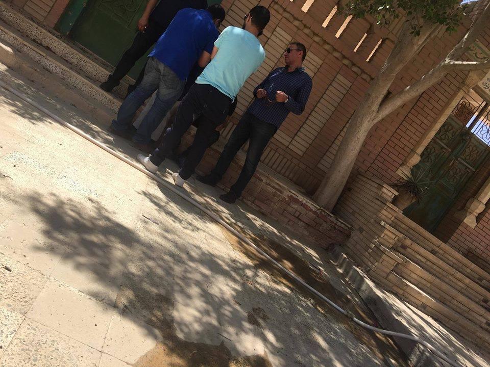 2 الخطيب يُشارك فى جنازة الطفل «بيجاد» بطل إعلان 57357