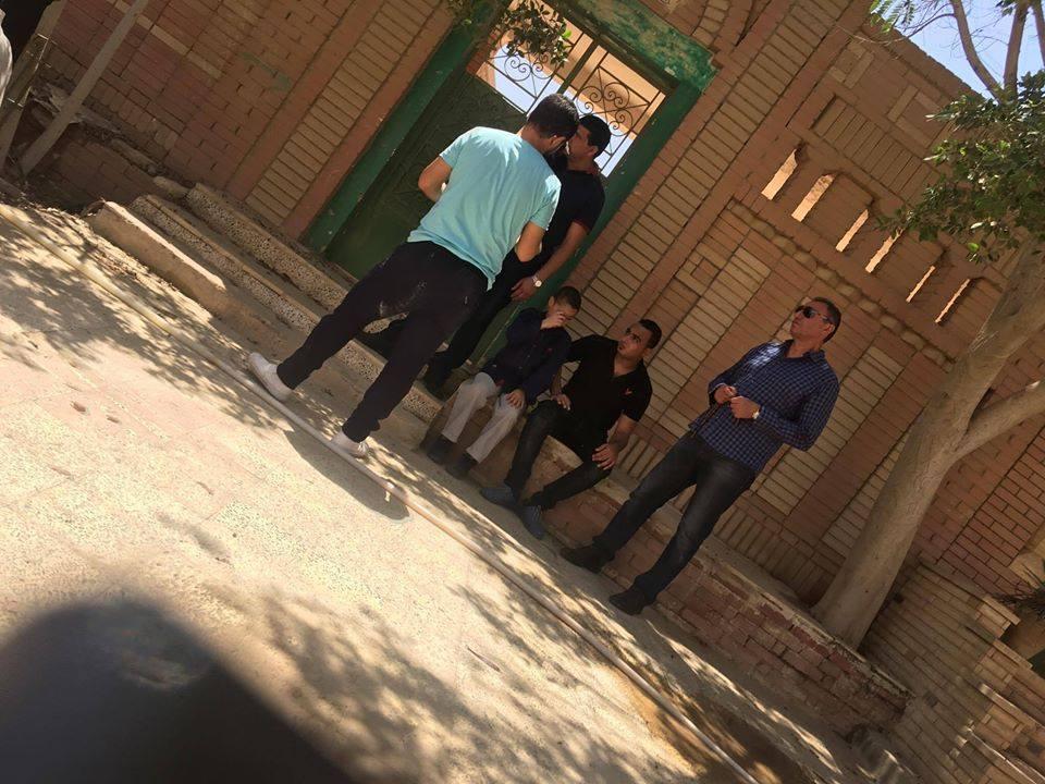 3 الخطيب يُشارك فى جنازة الطفل «بيجاد» بطل إعلان 57357