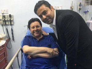 الرباعي يدعو لهاني شاكر بالشفاء بعد تعرضه لحادث في الأردن.