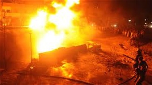 11 شخصاً في حريق بالسعودية