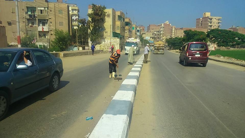 1حملة نظافة موسعة بمدينة فاقوس