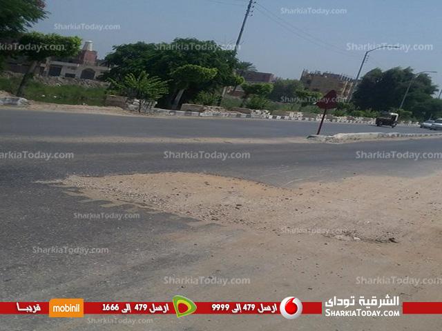 تسبب الحوادث في مدخل مدينة أبوحماد