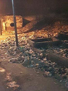 القمامة تحاصر مدرسة طلعت حرب التجارية بالزقازيق والأهالي تستغيث 1