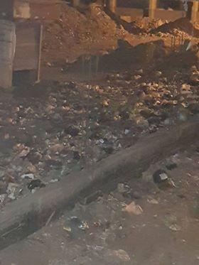 القمامة تحاصر مدرسة طلعت حرب التجارية بالزقازيق والأهالي تستغيث 3