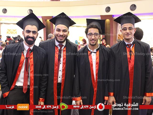 تخرج كلية تجارة جامعة الزقازيق 1.