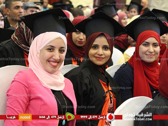 تخرج كلية تجارة جامعة الزقازيق