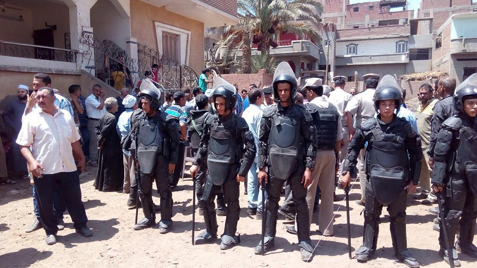 أمنية لإزالة التعديات على أراضي الدولة بمنيا القمح 2