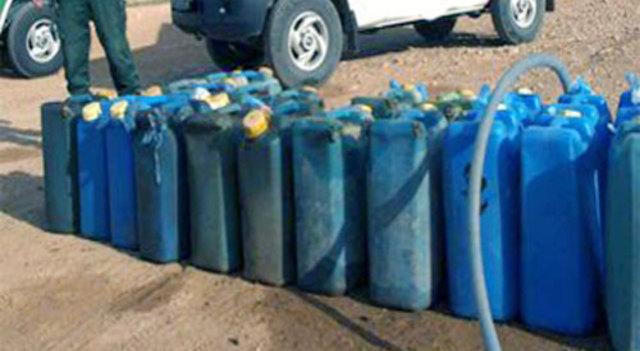 1000 لتر بنزين مجهولين المصدر بأبوكبير