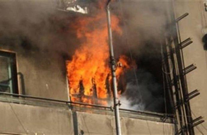 كهربي يتسبب في حريق بشقة بديرب نجم