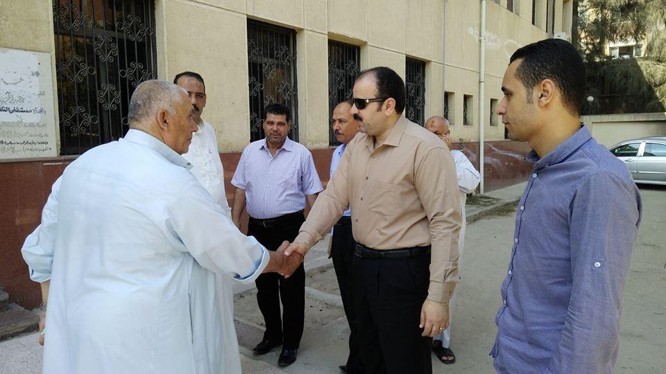 وزارة الصحة بالشرقية يتفقد مركز طب الأسرة بـ«الأسدية» بأبو حماد
