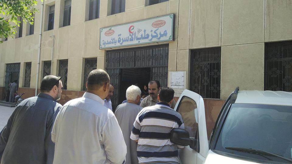 وزارة الصحة بالشرقية يتفقد مركز طب الأسرة بـ«الأسدية» بأبو حماد2