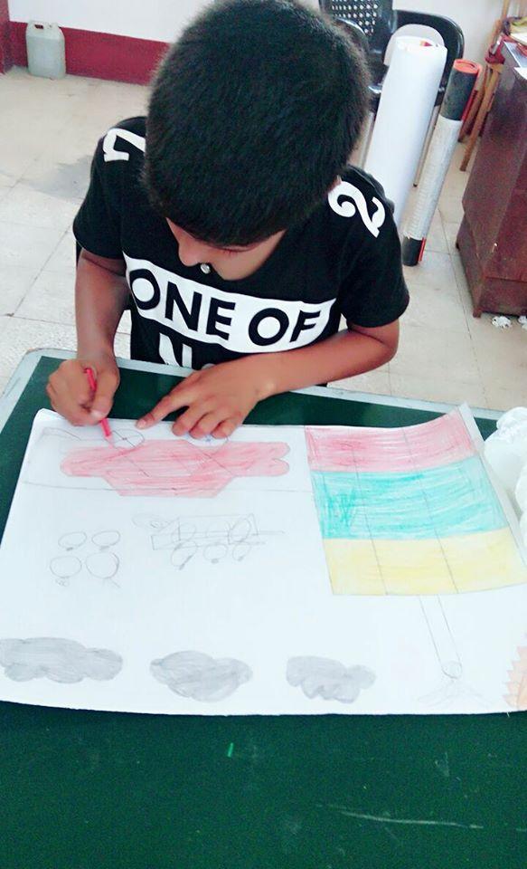 4انطلاق نهائيات مسابقة الرسم بالأماكن المفتوحة للطلائع بالشرقية