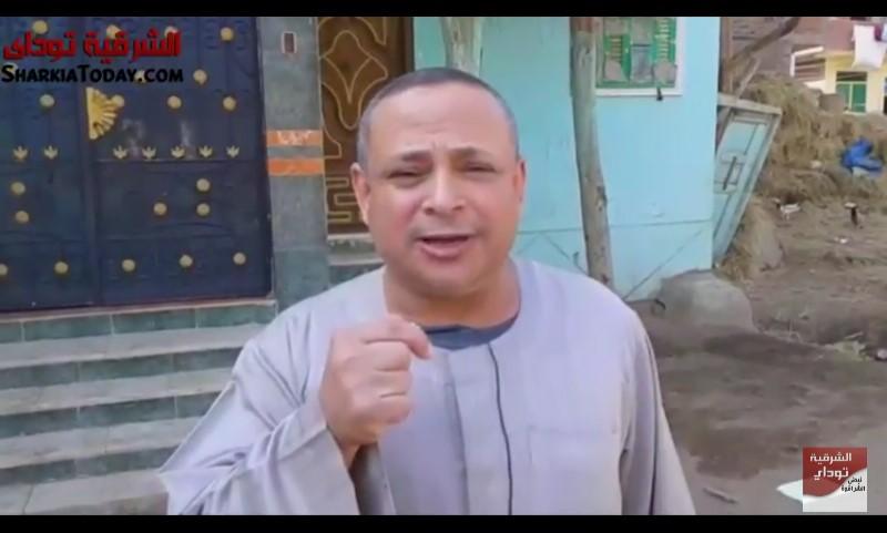 أهالى عزبة «أبو جادو» بكفر صقر من انهيار كوبرى المشاة 1