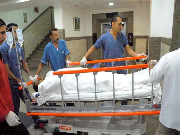 «محمد الحايس» يصل إلى أحد مستشفيات القوات المسلحة 2