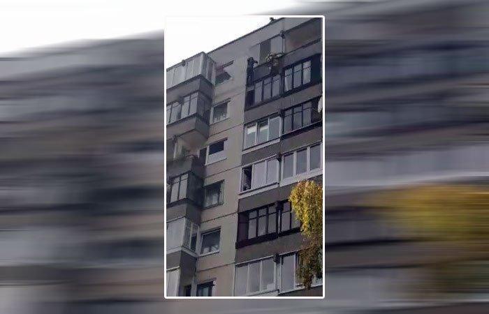 انتحار فتاة من الطابق التاسع ونجاتها من الموت بمعجزة