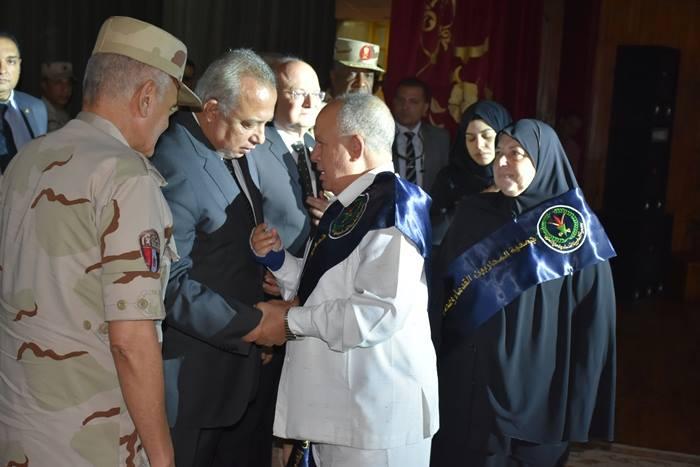 الشرقية يشهد الندوة التثقيفية الثانية للقوات المسلحة بجامعة الزقازيق4