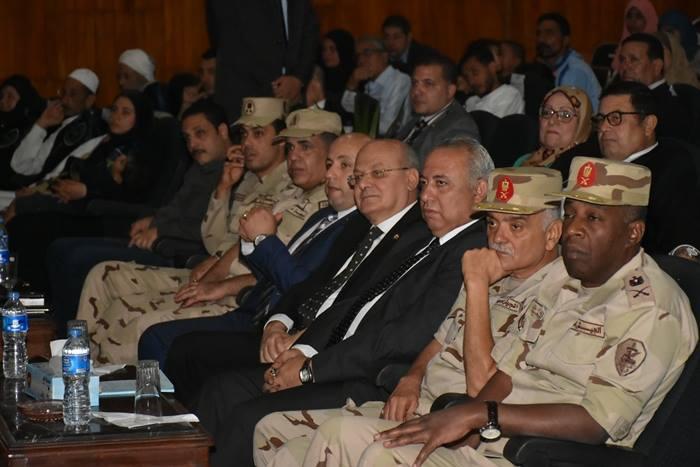 الشرقية يشهد الندوة التثقيفية الثانية للقوات المسلحة بجامعة الزقازيق55