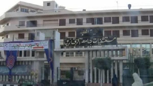اعتداء 15 شخص على طبيب في مستشفى الجامعة بالزقازيق
