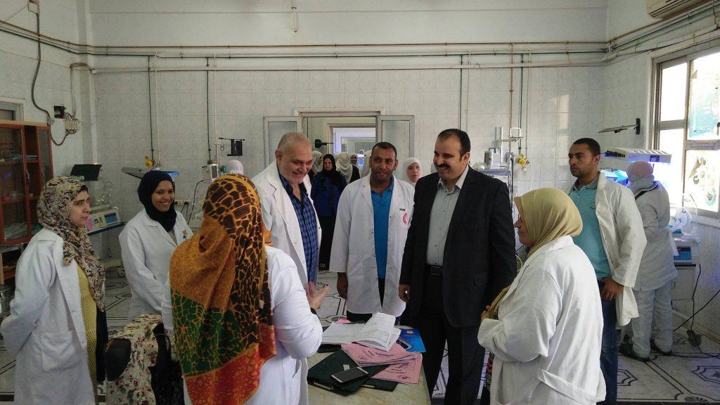 «صحة الشرقية» يتفقد إنشاء وحدة الغسيل الكلوي للأطفال بالمستشفيات 1