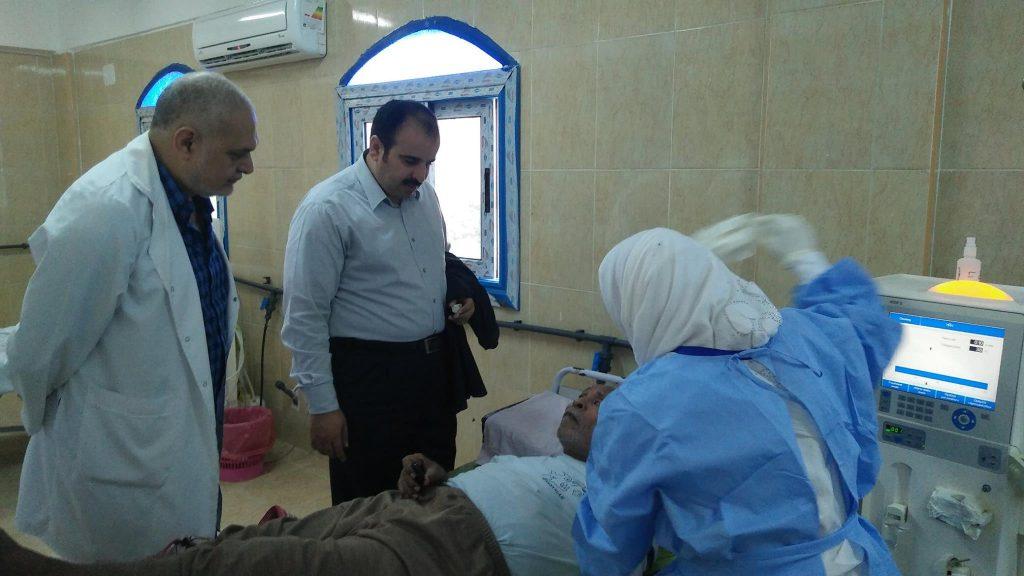 «صحة الشرقية» يتفقد إنشاء وحدة الغسيل الكلوي للأطفال بالمستشفيات 2