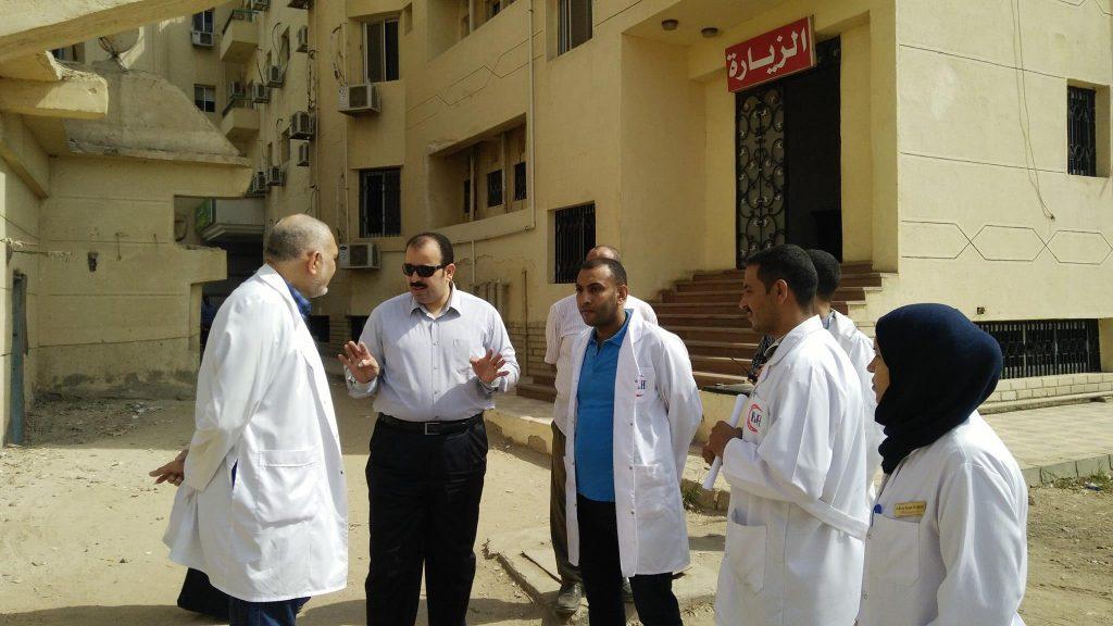 «صحة الشرقية» يتفقد إنشاء وحدة الغسيل الكلوي للأطفال بالمستشفيات 3