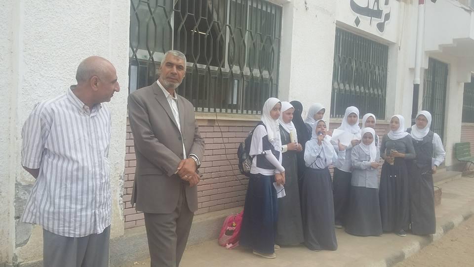 إدارة أبوكبير التعليمية يتفقد مدارس المدينة