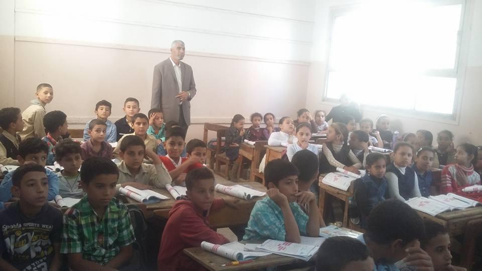 إدارة أبوكبير التعليمية يتفقد مدارس المدينه