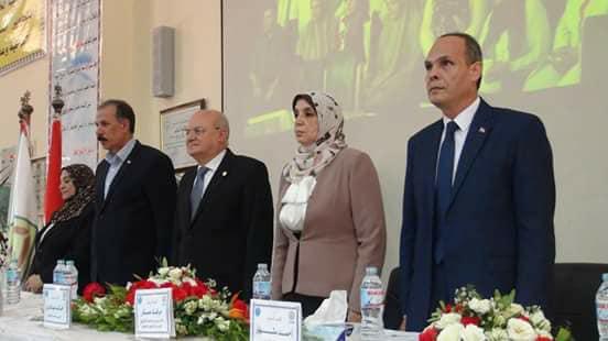 4رئيس جامعة الزقازيق يشارك كلية الزراعة احتفالها بحصولها على شهادة الاعتماد وضمان الجودة