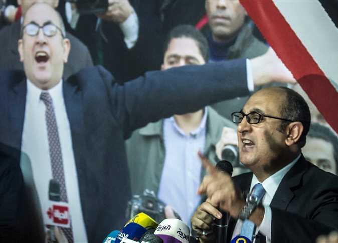 تعليق من حمدين صباحي على ترشح خالد علي للرئاسة